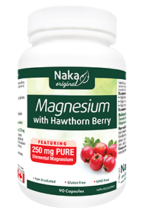 Naka Magnesium with Hawthorn Berry 250mg