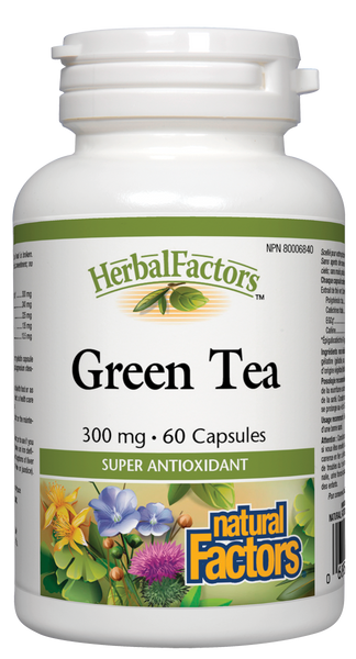 Natural Factors Green Tea 60Cap