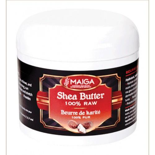 Maiga 100% Organic Raw Shea Butter 4OZ
