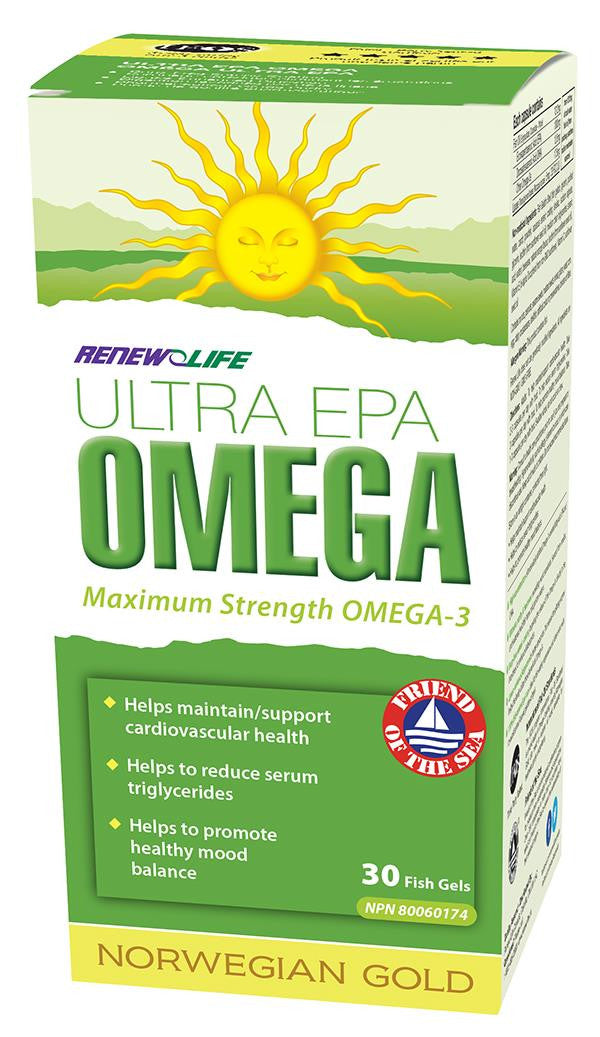 RENEW LIFE ULTRA EPA OMEGA 30 SOFTGELS