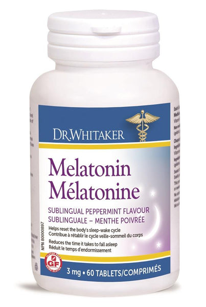 DR. WHITAKER Melatonin 3mg 60tabs*