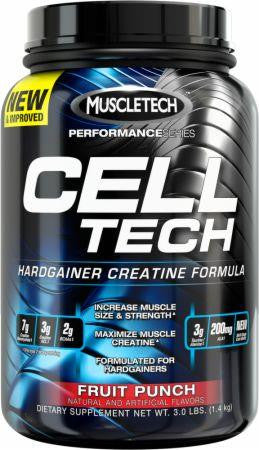 MuscleTech Cell Tech Fruit Punch 3lbs