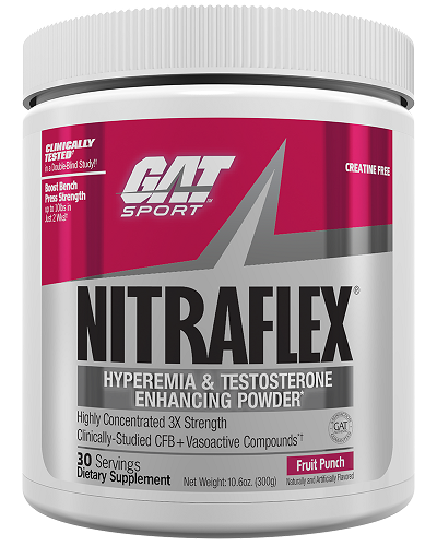 GAT NitraFlex Pre-Workout Fruit Punch 300g