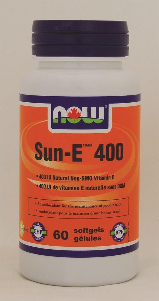 NOW Sun-E 400 60softgels