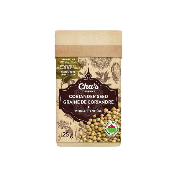 Cha's Coriander Seed Whole 25g