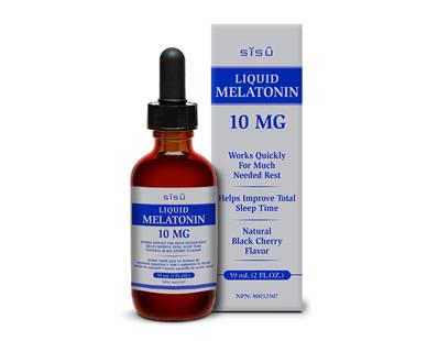SISU Liquid Melatonin 10mg 59mL