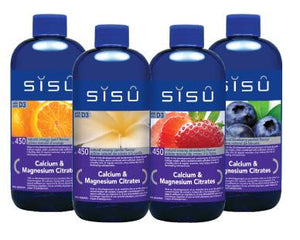 SISU Calcium & Magnesium Citrates Blueberry 450ml