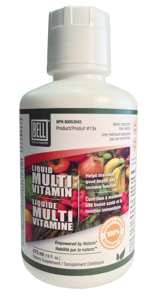 BELL Liquid Multi-Vitamin 16oz