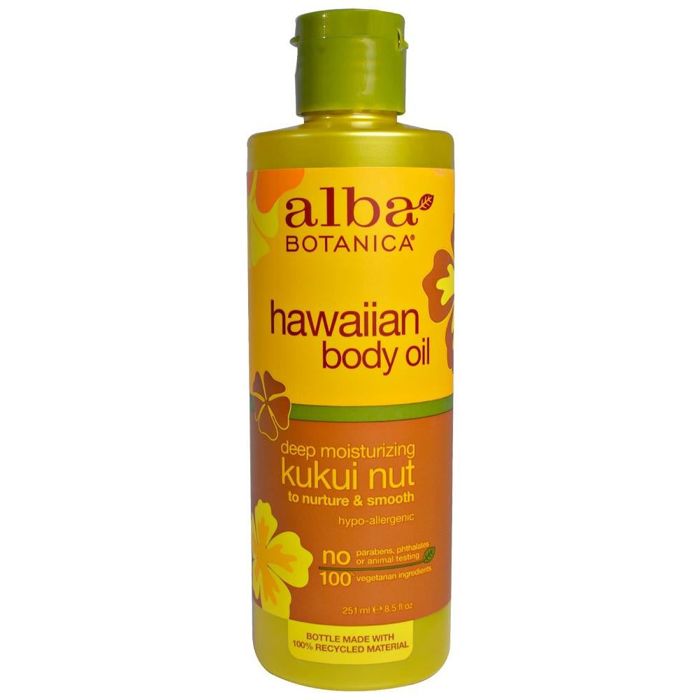 ALBA Moisturizing Kukui Nut Body Oil 250ml