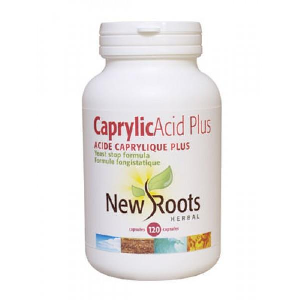 New Roots Caprylic Acid Plus 120caps