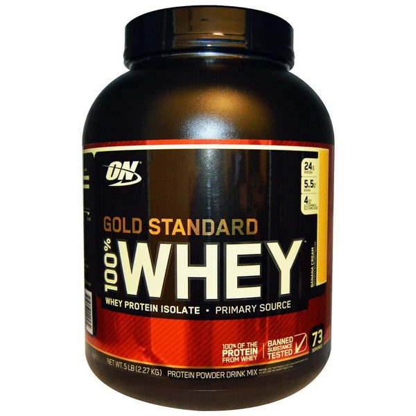 ON Gold Standard 100% Whey Banana Cream 5lbs