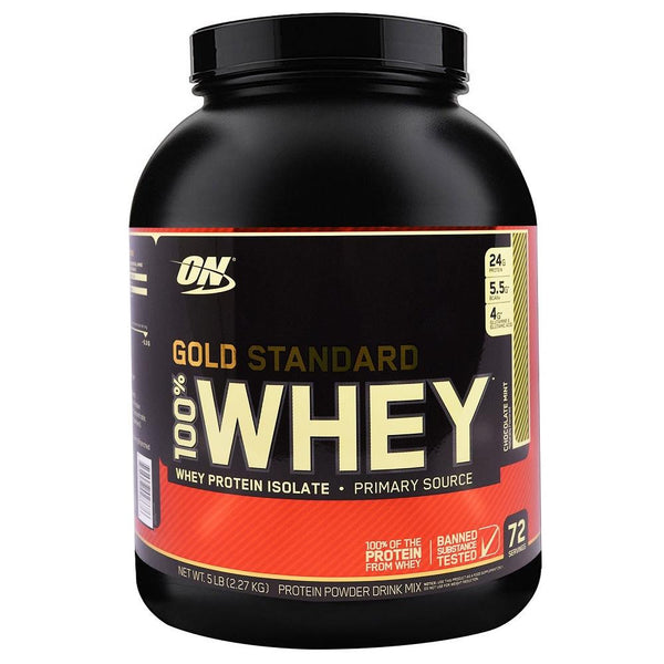 ON Gold Standard 100% Whey Chocolate Mint 5lbs