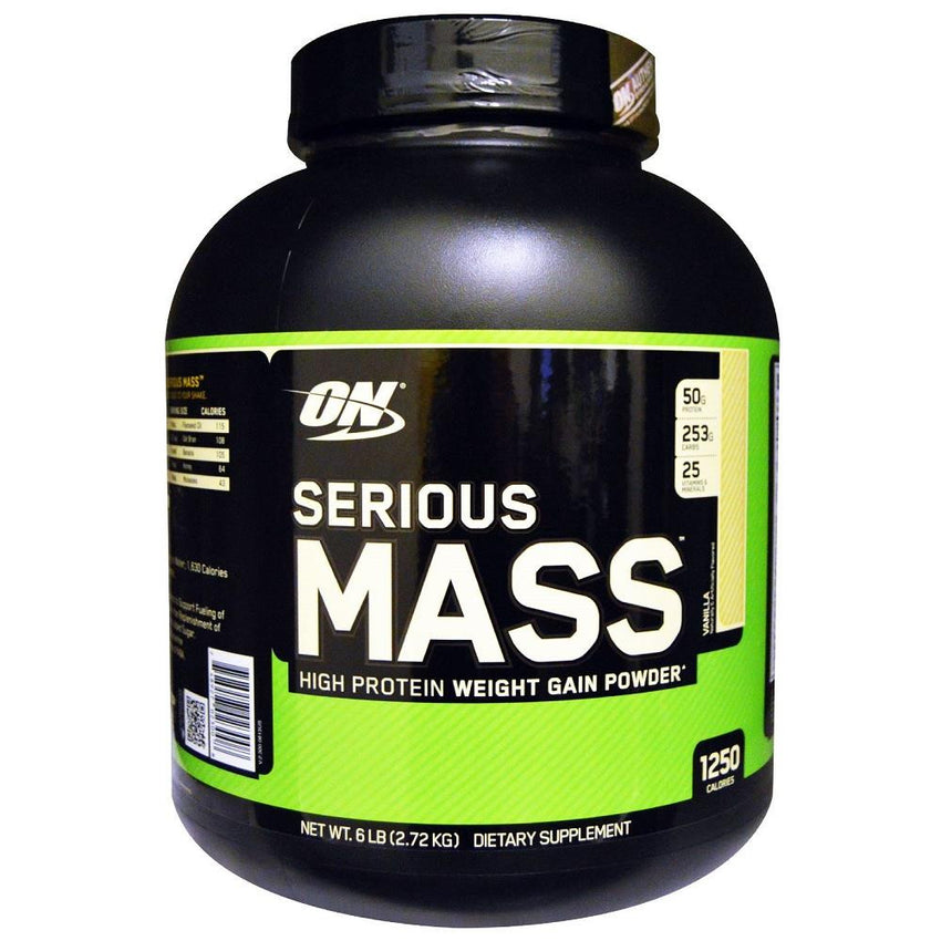 ON Serious Mass Vanilla 6lbs
