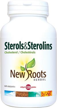 New Roots Sterols & Sterolins 120softgels