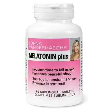 Lorna Vanderhaeghe Melatonin Plus 60 Tablets