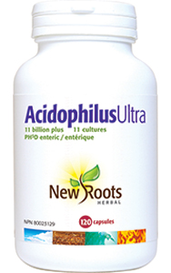 New Roots Acidophilus Ultra 120caps