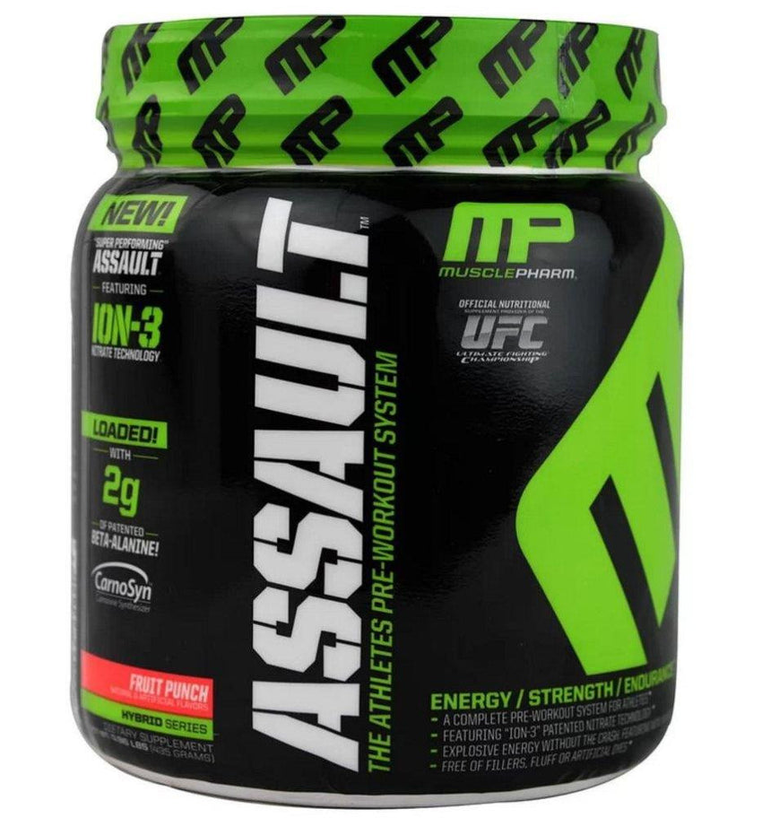 MusclePharm Assault Pre-Workout Fruit Punch 435g
