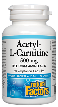 Natural Factors Acetyl-L-Carnitine 60VCaps