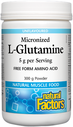 Natural Factors L-Glutamine 300G