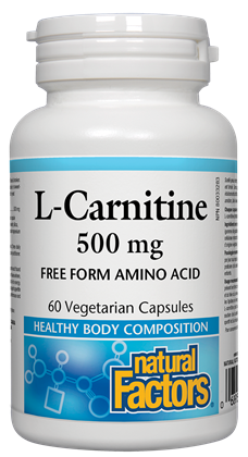 Natural Factors L-Carnitine 60Cap
