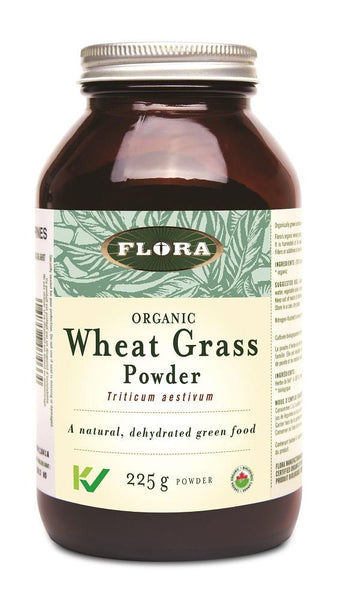 Flora Wheat Grass Powder 225g