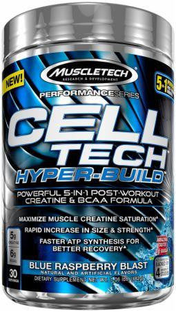 MuscleTech Cell Tech Blue Raspberry 3lbs