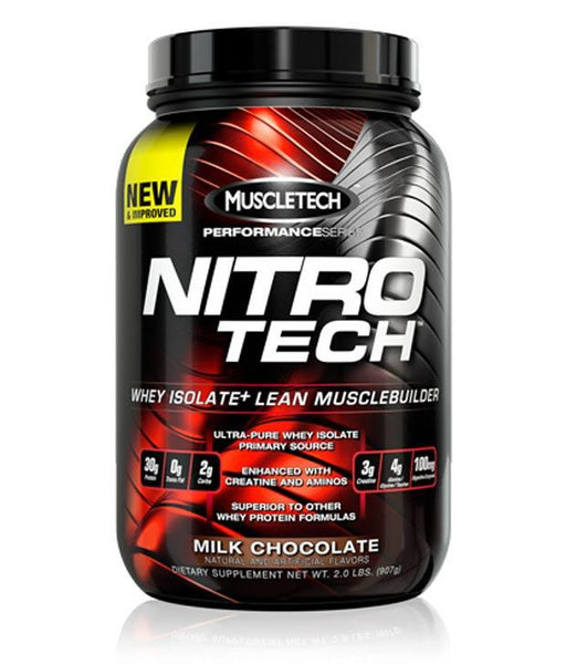 MuscleTech Nitro Tech Protein Chocolate 2lbs
