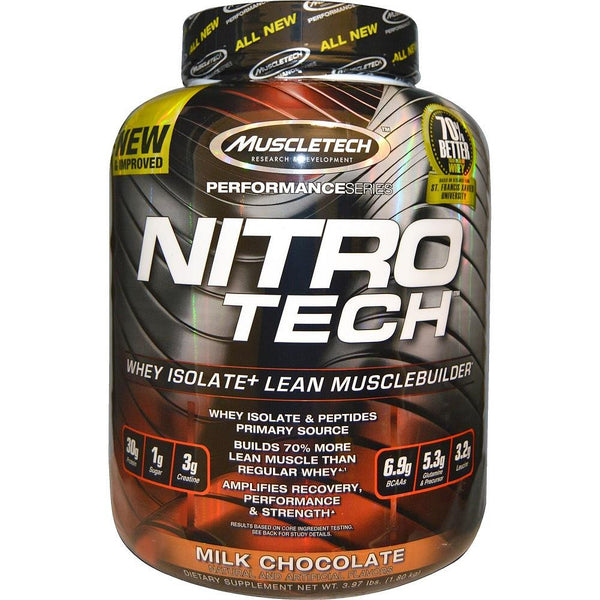 MuscleTech Nitro Tech Protein Milk Chocolate 4lbs