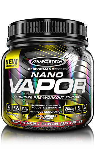 MuscleTech Nano Vapor Fruit Punch 1.08lbs