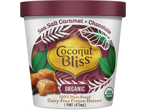 Coconut Bliss Sea Salt Carmel & Chocolate Frozen Dessert 473ML
