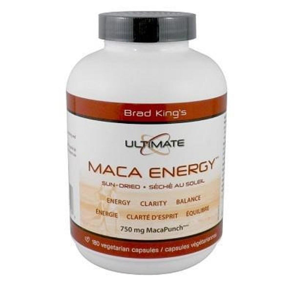 BRAD KING Ultimate Maca Energy 180Vcaps*