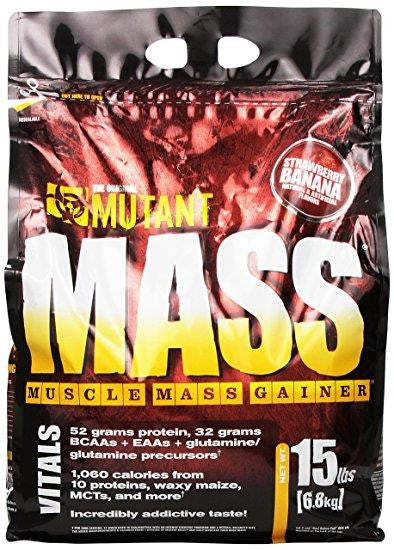 Mutant Mass Gainer Strawberry 15lbs