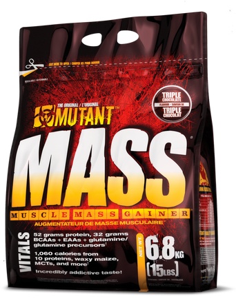 Mutant Mass Gainer Triple Chocolate 15lbs