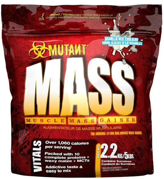 Mutant Mass Gainer Vanilla Ice Cream 15lbs
