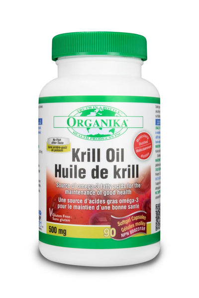 Organika Krill Oil 90Softgels