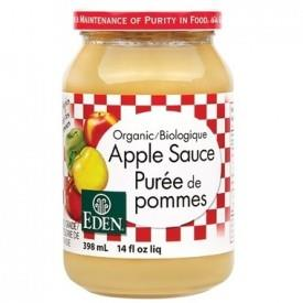 Eden Apple Sauce Organic 398ML
