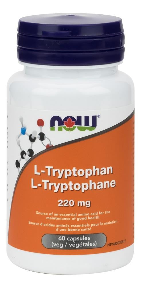 NOW L-Tryptophan 220mg 60Vcaps
