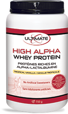 BRAD KING High Alpha Whey Tropical Vanilla 750g*