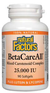Natural Factors Beta Care All 90SG