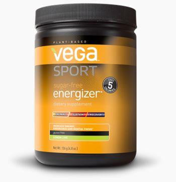 VEGA Energizer Sugar Free Powder (Lemon Lime) 136g