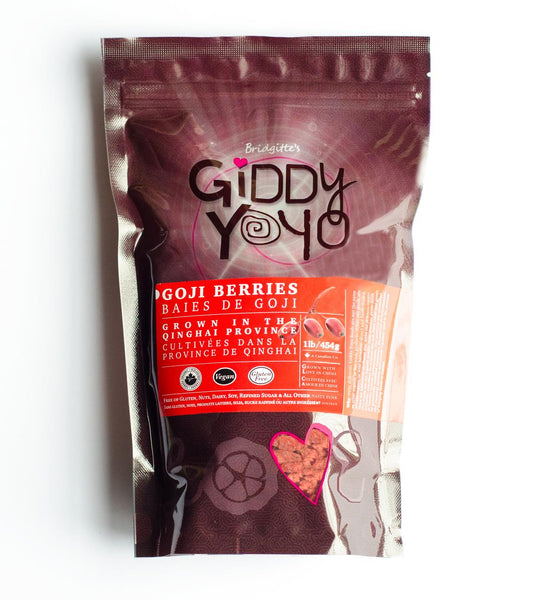 Giddy Yoyo Goji Berries Certified Organic 454g