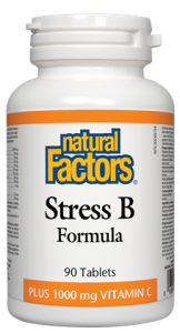 NATURAL FACTORS STRESS B FORMULA 90 TABS