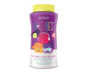 SISU U-Cubes Kids' Gummies 120