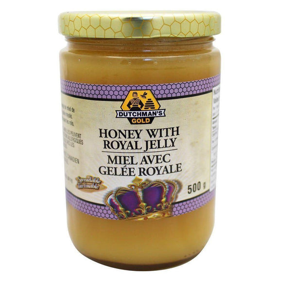 Dutchman's Gold Royal Jelly in Raw Honey 500g