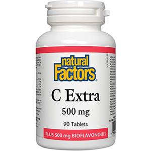 Natural Factors C Extra 90Tab
