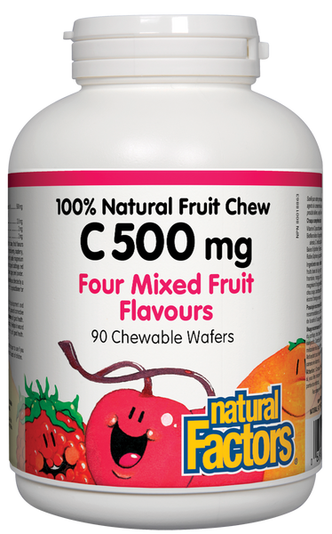 NATURAL FACTORS C 500 FOUR FRUITS