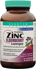 Quantum Health Thera Zinc Elderberry 60lozenges