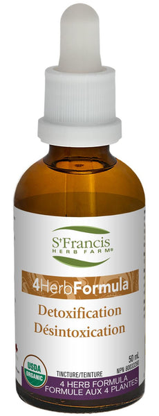 St. Francis 4 Herb Formula Detoxification 50ml