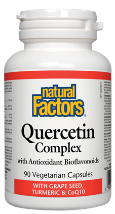 NATURAL FACTORS QUERCETIN COMPLEX 90CAPS