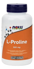 NOW L-Proline 500mg 120Vcaps